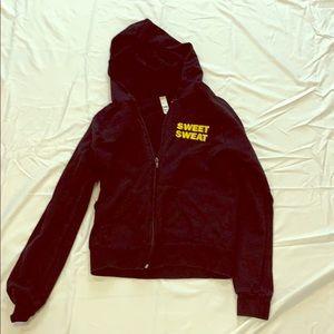 Sweet sweat zip up hoodie